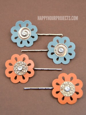 http://happyhourprojects.com/wp-content/uploads/2015/05/Leather-Floral-Hair-Pins-1-300x400.jpg