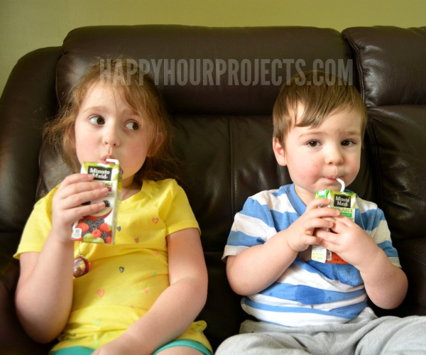 """Know a Parent Who's Doin' Good?  Tell Them with the Minute Maid® """"Doin' Good"""" Initiative at www.happyhourprojects.com"""