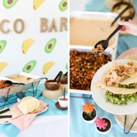 "Stress Less: ""Taco 'Bout a Future"" Catered Graduation Party Ideas"
