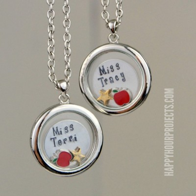 Teacher Appreciation Personalized Lockets