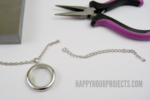 Personalized Teacher Appreciation Lockets   A Great End of the School Year Gift at www.happyhourprojects.com