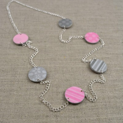 Bright Scraps Statement Necklace
