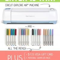 Cricut Explore Air™  Prize Bundle Giveaway
