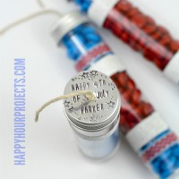 Easy Firecracker Treat Tubes at www.happyhourprojects.com