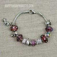 Instant Charm Bracelet | A 1-Minute DIY Pandora-Style Charm Bracelet, great for gifts (or gifts to yourself!)