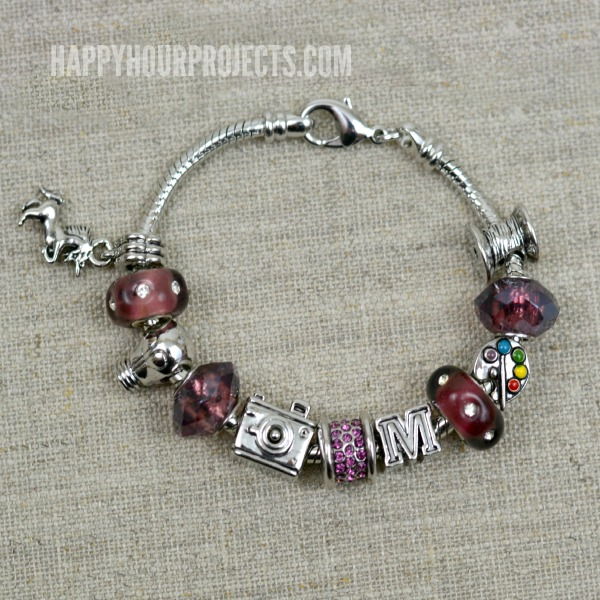 Instant Charm Bracelet | A 1-Minute DIY Pandora-Style Charm Bracelet, great for gifts (or gifts to yourself!)