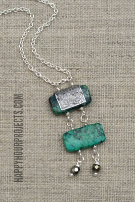 http://happyhourprojects.com/wp-content/uploads/2015/07/Ladder-Style-Turquoise-Bead-Necklace-3-267x400.jpg