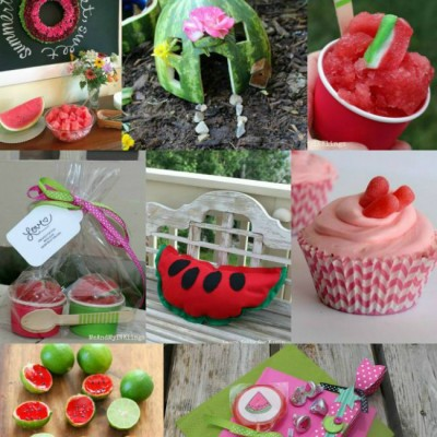 21 Wonderful Watermelon Crafts, Recipes & a Giveaway