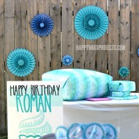 A Blue Birthday Party