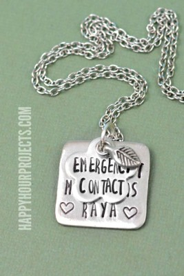 http://happyhourprojects.com/wp-content/uploads/2015/08/Emergency-Contact-Stamped-Necklace-4.11-267x400.jpg