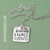 How to Make a Hand Stamped Necklace | The Basics at www.happyhourprojects.com