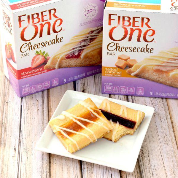 Fiber One Cheesecake Bars