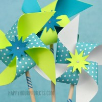 Easy DIY Pinwheels