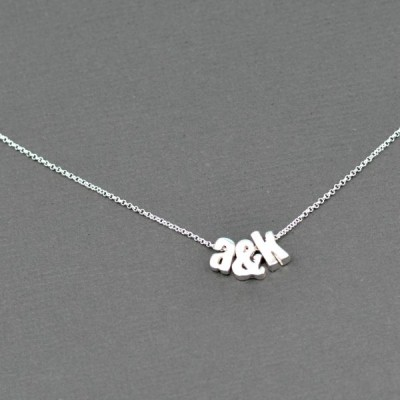 Easy DIY Initial Necklace