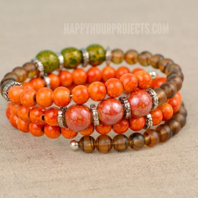 http://happyhourprojects.com/wp-content/uploads/2015/09/Autumn-Memory-Wire-Bracelet-3-400x400.jpg