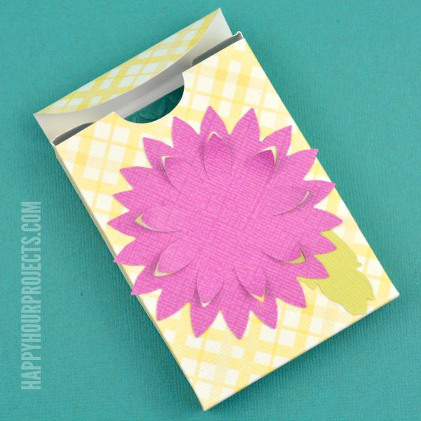How to Make a Jewelry Gift Box | Easy Die-Cut Project at www.happyhourprojects.com