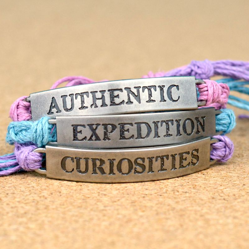 DIY Tim Holtz Word Band Friendship Bracelets at www.happyhourprojects.com