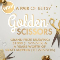 Blitsy's Golden Scissors Blog Hop + Sneak Peeks!