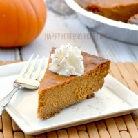 Gluten Free Pumpkin Pie Recipe | An Adaptation of the Classic!