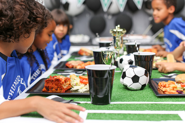 Sports Team Party Ideas | Plan a Party Like a Champ at www.happyhourprojects.com