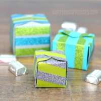 Glittering DIY Gift Boxes