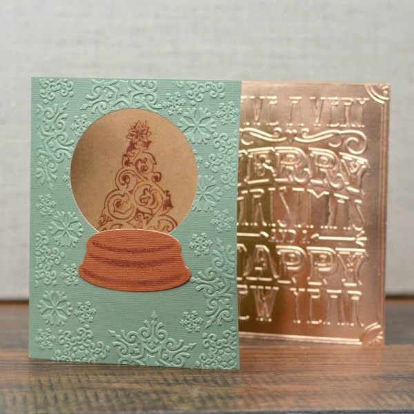 handmade christmas card ideas at wwwhappyhourprojectscom embossing can make up a - Handmade Christmas Cards Ideas