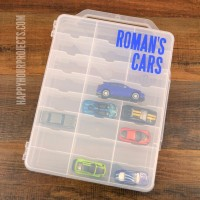 DIY Matchbox or Hot Wheels Storage Carrier