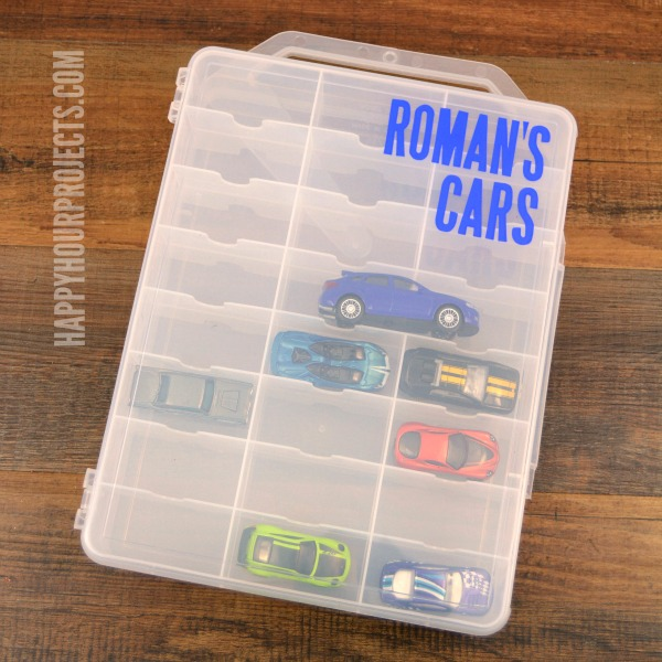 DIY Matchbox Or Hot Wheels Storage Solution At Www.happyhourprojects.com |  Personalize It