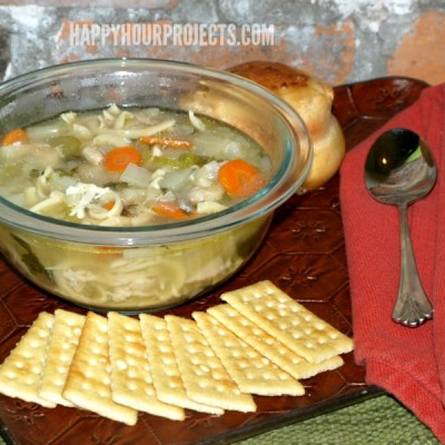 Pressure Cooker Chicken Noodle Soup Recipe