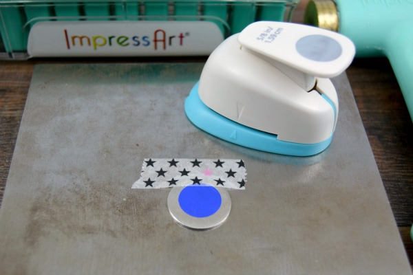 Follow Your Heart Hand Stamped Necklace   Stamping Round Blanks at www.happyhourprojects.com
