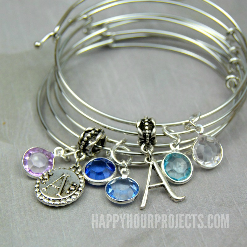 Easy Diy Charm Bangles At Www Hyhourprojects
