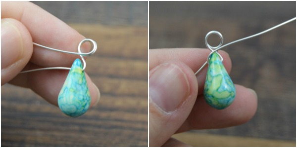 How to make a wire wrapped bead pendant happy hour projects learn to make a wire wrapped bead pendant at happyhourprojects aloadofball Image collections
