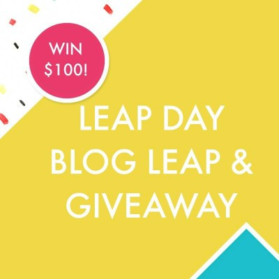 Blitsy Blog Leap with Easy Watercolor and a $100 Giveaway