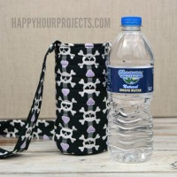 15 Minute Water Bottle Sling at happyhourprojects.com