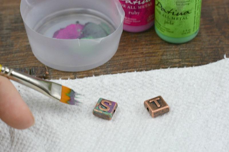 Copper & Glass Artist Bracelet Tutorial | happyhourprojects.com