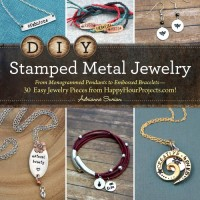 DIY Stamped Metal Jewelry by Adrianne Surian