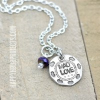 Mad Love Hand Stamped Necklace + Starter Set Giveaway