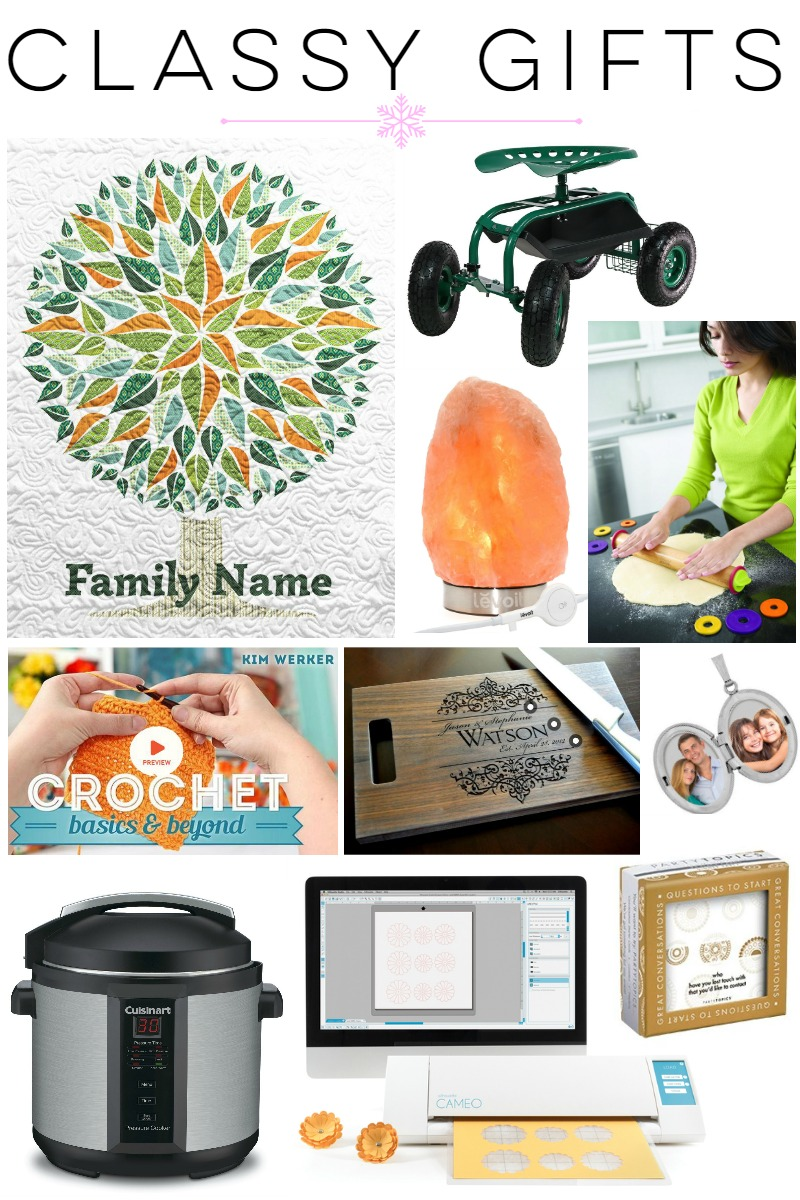 Gift Guide: Classy Gift Ideas at happyhourprojects.com