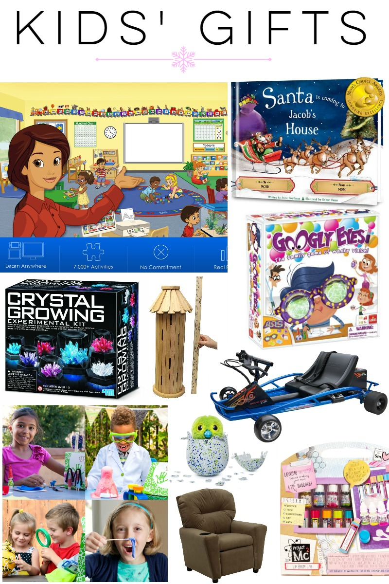 Gift Guide: Kids Gift Ideas at happyhourprojects.com
