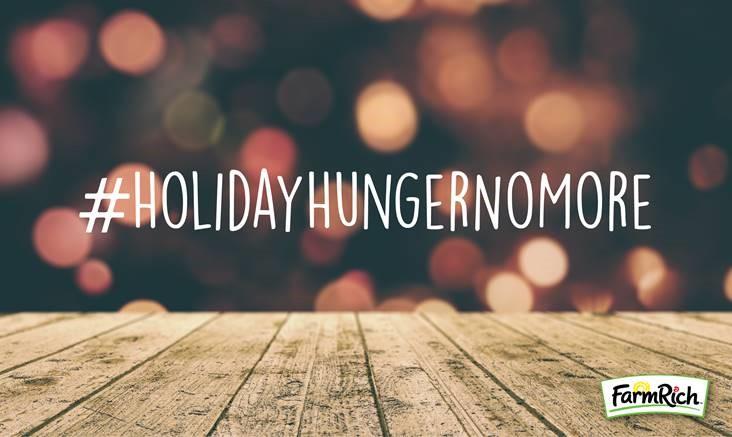 #HolidayHungerNoMore
