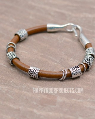 http://happyhourprojects.com/wp-content/uploads/2017/01/Pewter-Leather-Bracelet-1-WM-320x400.jpg