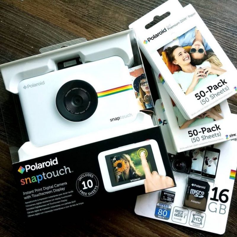 Ritz Review | An honest Polaroid Snap Touch camera review with the help of my sponsor, Ritz Camera at happyhourprojects.com