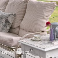 Favorite Spaces | A Deck Furniture Makeover
