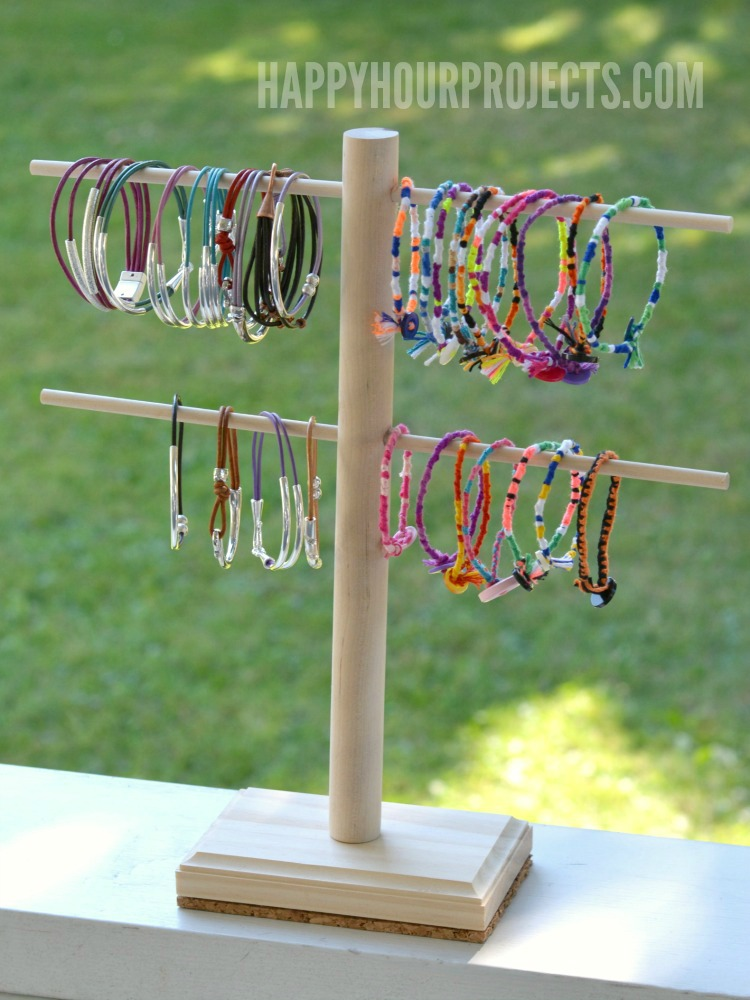 DIY Jewelry Display Stand Happy Hour Projects Adorable How To Make A Jewelry Stand Display
