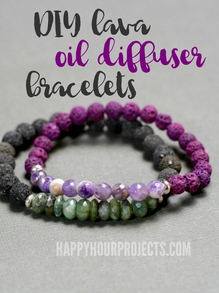 Diy Lava Essential Oils Diffuser Bracelet Happy Hour