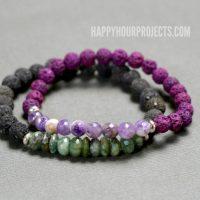 DIY Lava Essential Oils Diffuser Bracelet