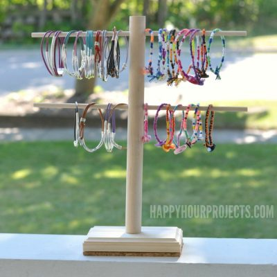 DIY Jewelry Display Stand