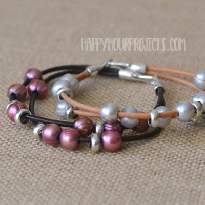 http://happyhourprojects.com/wp-content/uploads/2018/07/Pearl-Leather-Bracelets-3-400x400.jpg